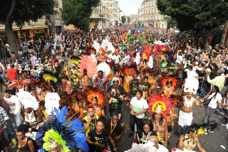 Notting Hill carnival in 2012.