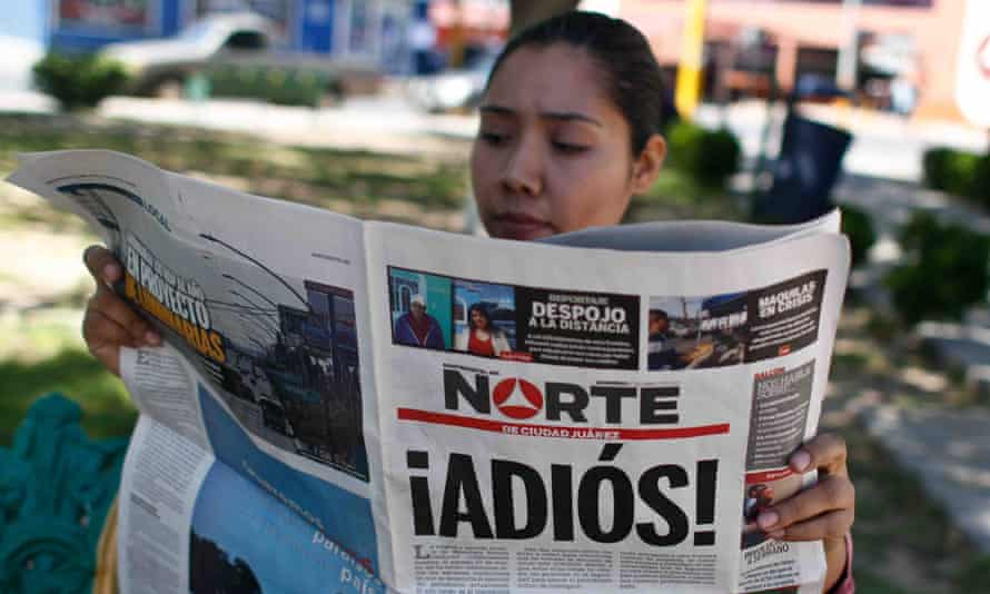 The newspaper announced its definitive closure due to 'the dangers and adverse conditions' for the exercise of journalism in Mexico.