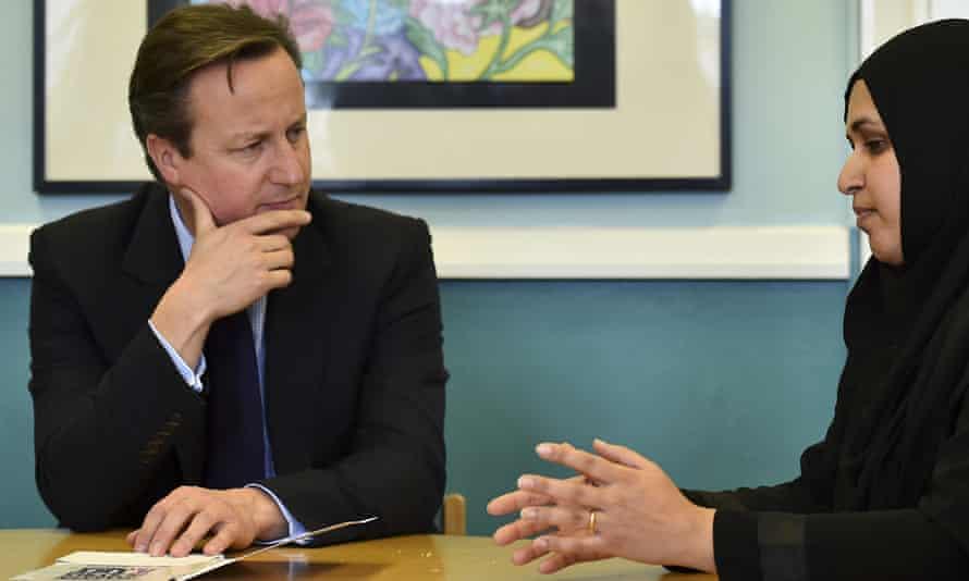 David Cameron in Luton