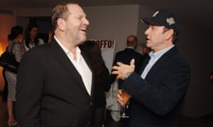 Harvey Weinstein and Kevin Spacey at a book launch