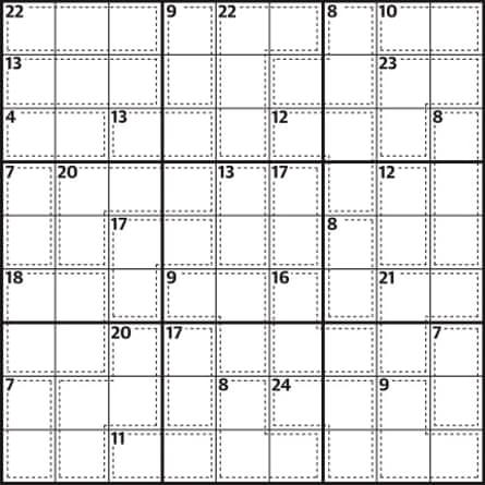 Killer sudoku G2 729