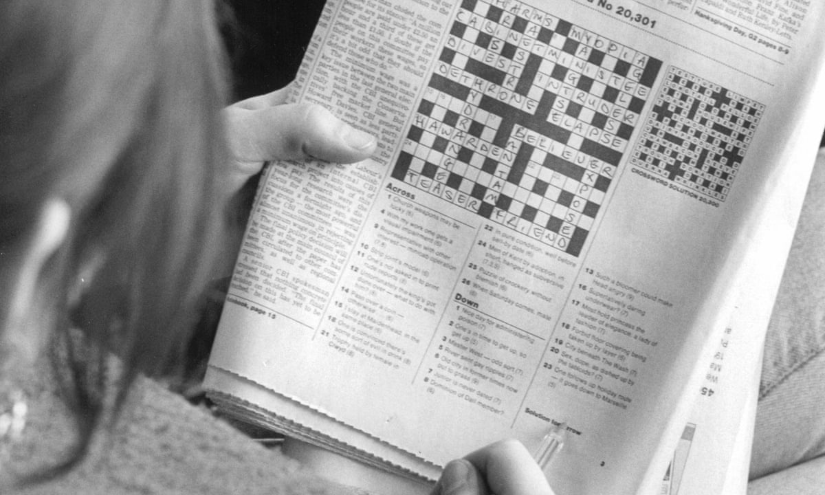 Thinking Inside The Box By Adrienne Raphel Review Adventures With Crosswords History Books The Guardian