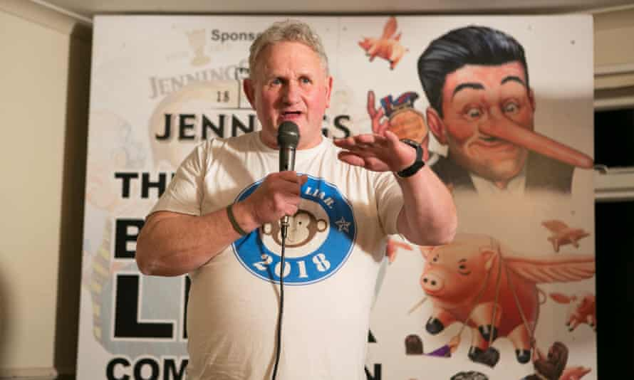 Six-time former champion Mike Naylor (aka Monkey Liar) fell to third place in this year's contest.