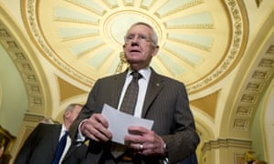 Senate minority leader Harry Reid, one of the senators who has demanded Republicans reconvene Congress for Zika funding.