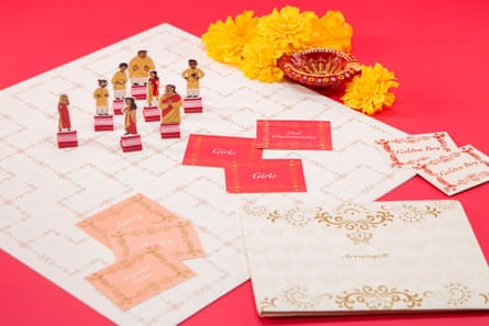Arranged marriage board game