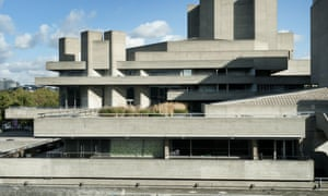 The National Theatre, designed by Denys Lasdun, who didn't approve of the label brutalist