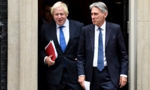 Boris Johnson  and Philip Hammond