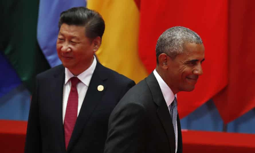 Presidents Xi Jinping and Barack Obama at the G20 summit last month.