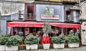Exterior of Pizzeria Oliva da Salvatore e Carla, La Sanità, Naples, Italy.