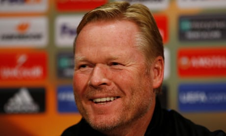 For now I have full support of the Everton board, says Ronald Koeman