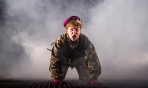 Michelle Terry as Henry V at the Open Air theatre in Regent's Park, London.
