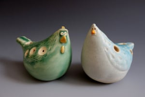 Evolution of the Chickarina by Elizabeth Paley