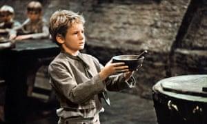 Mark Lester in Oliver! (1968).