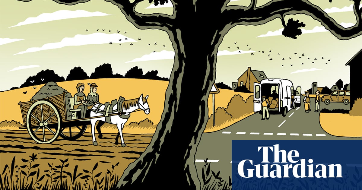 Tim Dowling: First came the crows – now there's a pile of manure at the door