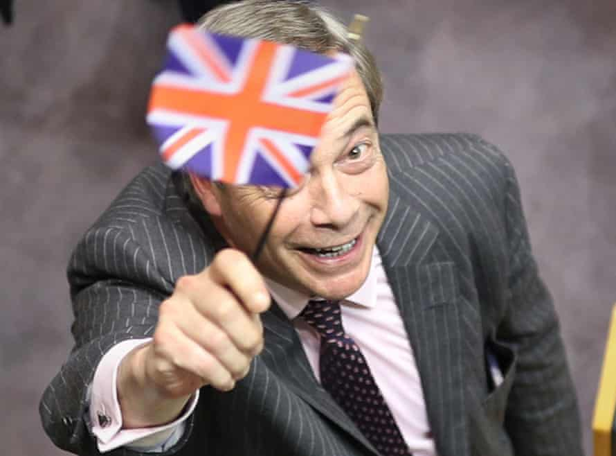 Here to stay? Nigel Farage.
