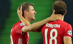 Bayern Munich's Thomas Müller is playing better than eeer this season after he was culled by Jogi Löw as Germany prepared for the Euros.