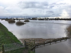 Flooding in Snaith, East Yorkshire, where homes have been evacuated after the River Aire burst its banks
