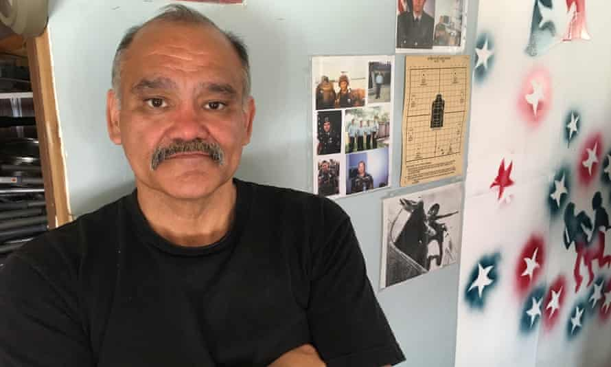 Luis Vargas Salazar, a former US marine who has been deported to Mexico.