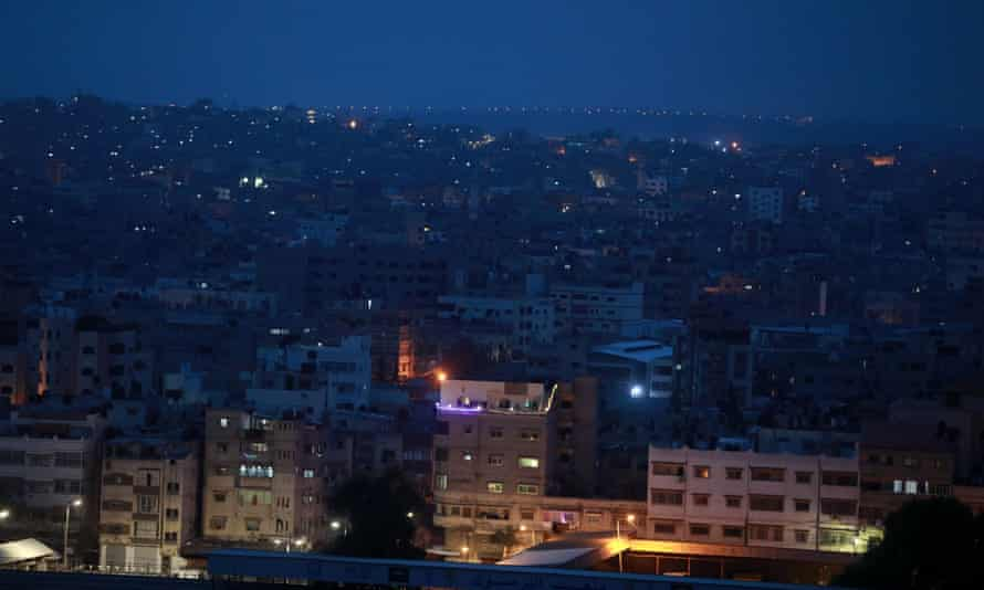 A general view of Gaza City