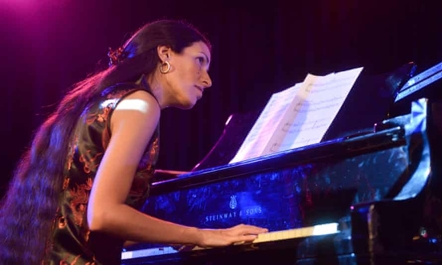 Previous Mobo winner Zoe Rahman performs at the Southbank Centre.