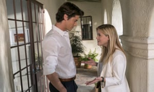 LA love ... Pico Alexander and Reese Witherspoon in Home Again.