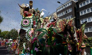 One of the floats at last year's Notting Hill carnival during which the Met's use of facial recognition was wrong 98% of the time.