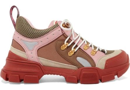 Gucci Flashtrek hiking boot, £705, netaporter.com