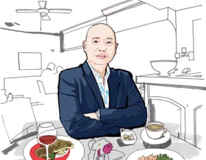 Lunch with Dr Giles Yeo Observer Food Monthly
