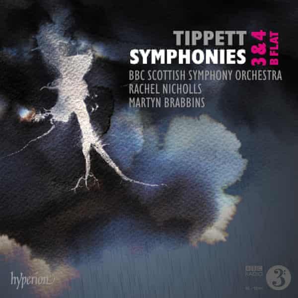 Tippett: Symphonies Nos 3, 4 & B flat … album artwork.