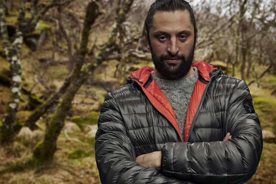 'His own worst enemy': Anton, a participant in Channel 4's Eden.