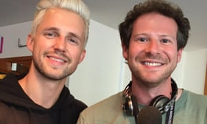 Olly Mann and Marcus Butler at the 2016 Edinburgh International Television Festival