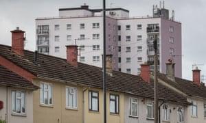 Traditional social housing iin Bristol.