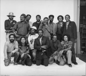 Kamoinge Group Portrait, 1973, by Anthony Barboza (born 1944)