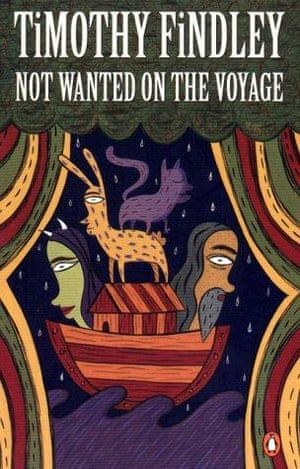 Not Wanted on the Voyage by Timothy Findlay book cover