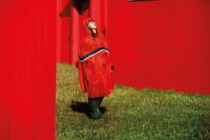 Glastonbury Festival 2014. The corridors of corporate hell in Shangri La Shangri-La