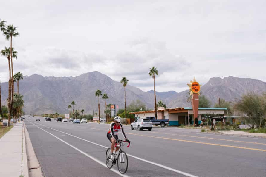 The town of Borrego Springs, CA, March 10th 2019