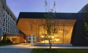 Andermatt's new concert hall, designed by Christina Seilern