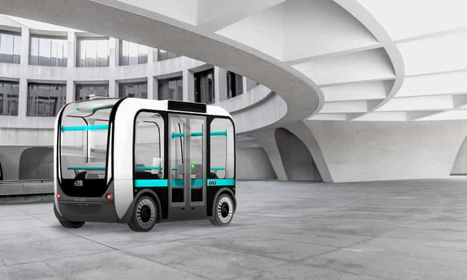 Olli, a 12-passenger self-driving shuttle, uses the cognitive computing ability of IBM Watson and is being trialled in cities across the US.