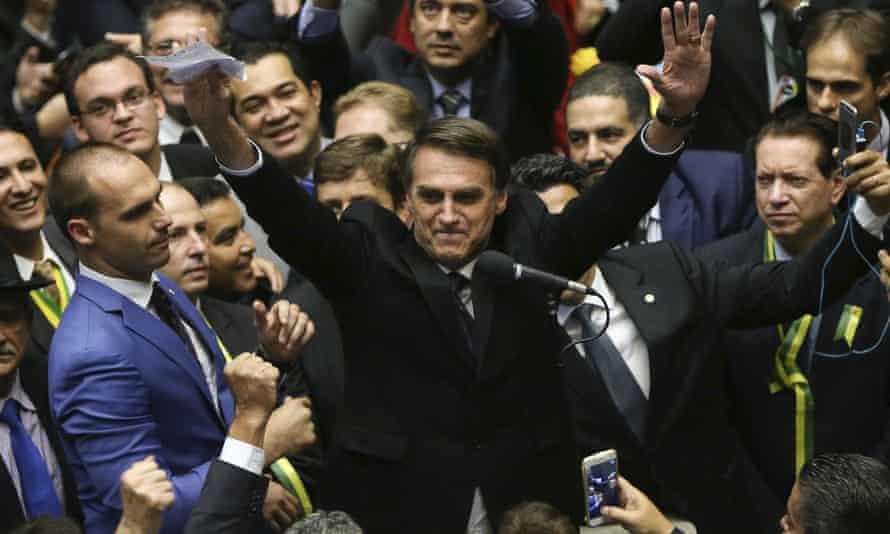 Far-right presidential candidate Jair Bolsonaro has praised the dictatorship era as a golden age.