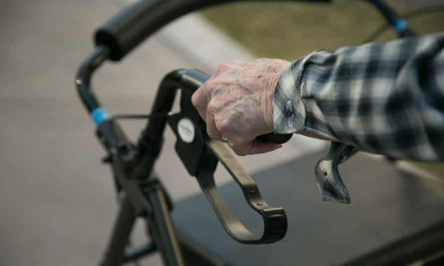 An aged care stock photo