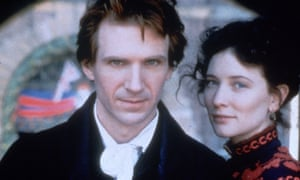 Ralph Fiennes and Cate Blanchett in the 1997 film of Oscar and Lucinda.