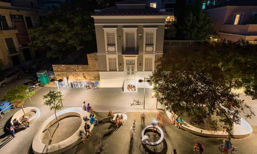 Six Thresholds project at Kallisperi Street, Athens.