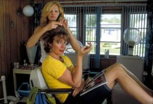 Ellen Barkin and Allison Janney