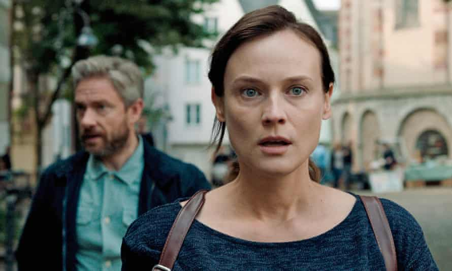 Diane Kruger and Martin Freeman in The Operative.
