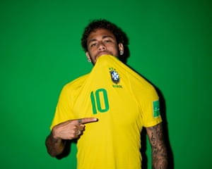 """Neymar Jr will be hoping to lift Brazil's sixth World Cup. It has been sixteen years since the last, and Brazilian legend Ronaldo says """"It is time for us in Brazil to win a World Cup again""""."""