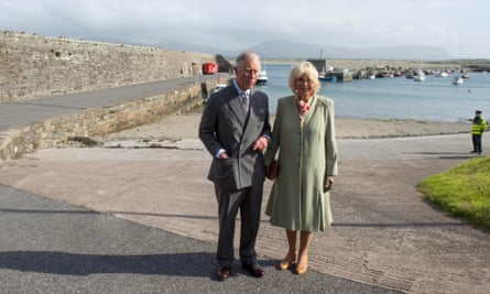 Prince Charles Visits Scene Where Lord Mountbatten Was Killed By The Ira Ireland The Guardian