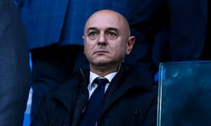 Tottenham's Daniel Levy is in effect the most important English person in English club football right now.