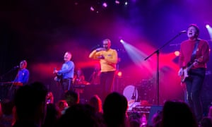 Fruit Salad, Yummy Yummy, performed at the Wiggles' reunion show at Dee Why RSL on Friday