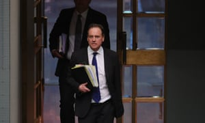 Health minister Greg Hunt was speaking 'in response to public debate', Stephen Donoghue told the court.