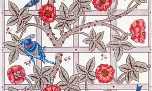 Wallpaper by William Morris, from 1864.